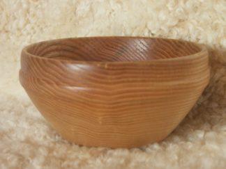 Bol en bois naturel: ici du frêne
