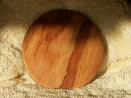 Planche à pizza en bois de pommier