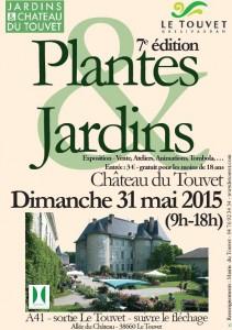Au creux d'un arbre sera à la journée Plantes et  jardins au Touvet le 31 mai 2015