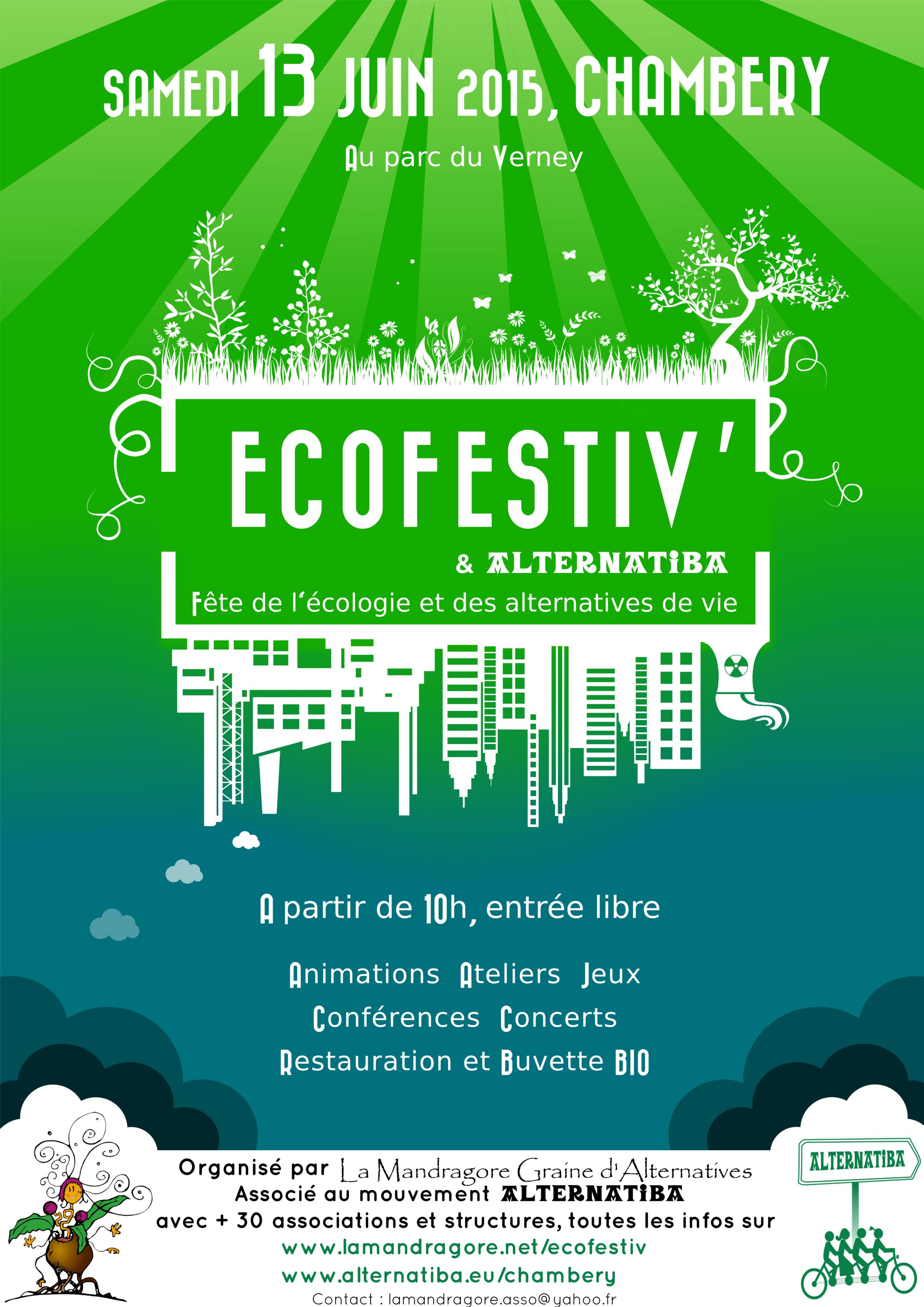 Ecofestiv Chamébry 13 juin 2015