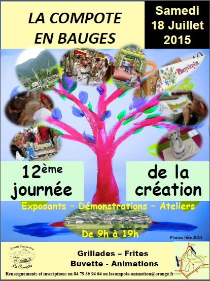 12ème journée de la création à la Compôte en Bauges
