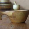 Kuksa en bois érable, fabrication artisanale française, pièce unique
