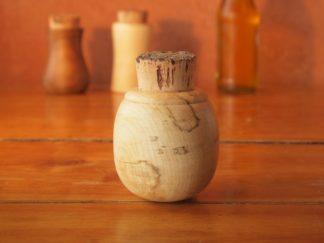 Pot à épice en bois d'érable