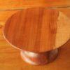 Présentoire à gateau en bois de pommier