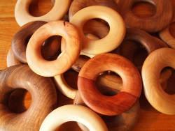 Dessous de plat en bois de noyer, frêne, merisier, pommier et plus encore!