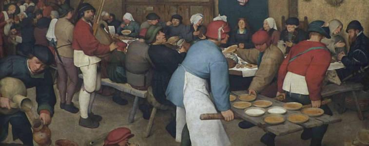 Ecuelles en bois médiévales utilisée pour cette fête médiévale, Au Moyen-âge, les ecuelles en bois constituaient une grande part de la vaisselle. Chacun avait son assiette creuse, bien adaptée à la nourriture de l'époque.