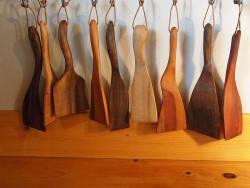 Spatule et cuillère en bois, voici mon offre d'ustensiles de cuisine en bois!