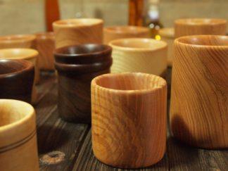 Verres en bois